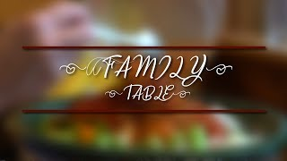 The Family Table - Autumn Apple Dishes