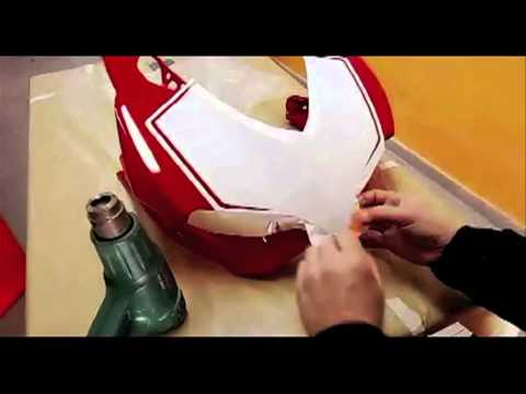 decal sticker kit starterfield for Ducati Panigale