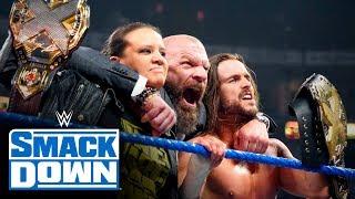 Triple H declares war on behalf of NXT: SmackDown, Nov. 1, 2019