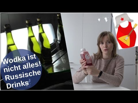 Wodka ist nicht alles! Russische Drinks [Video]
