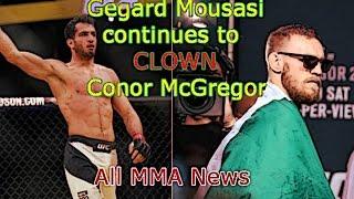 Gegard Mousasi HUMILIATES Conor McGregor