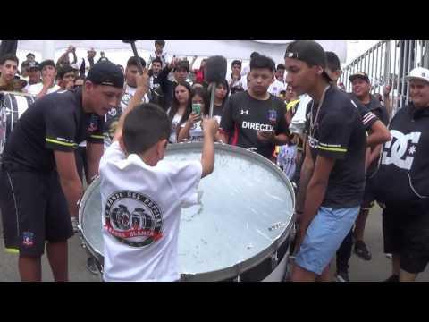"""""""Garra Blanca  - La Banda del Popxlar"""" Barra: Garra Blanca • Club: Colo-Colo"""