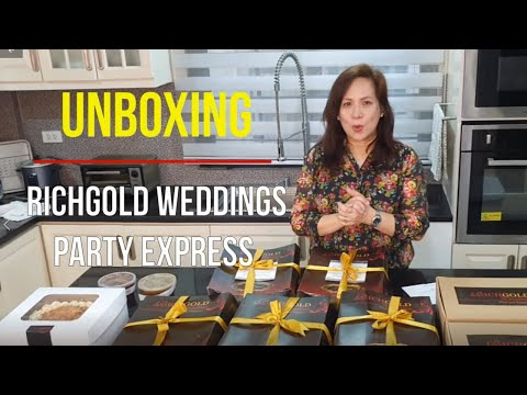 Unboxing Richgold Wedding's Party Express Package