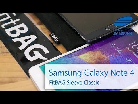 Samsung Galaxy Note 4 Tasche Hülle Sleeve FitBag deutsch HD