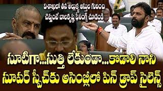 విశాఖలోని మా కమ్మోళ్లే..కొడాలి మాటలకు బాలయ్య షాక్| Kodali Nani Excellent Speech AP 3 Capitals
