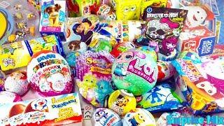 45 Киндер Сюрпризов LOL Кукла ЛОЛ Monster High ПЕППА Гадкий Я МАША МЕДВЕДЬ Unboxing Kinder Surprise