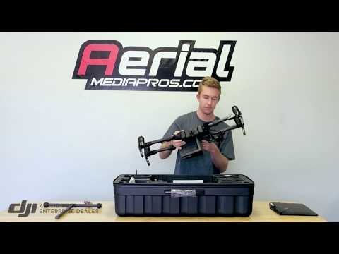 DJI Matrice 200 / 210 RTK Industrial Drone System Unboxing