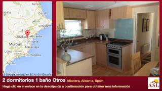 preview picture of video '2 dormitorios 1 baño Otros se Vende en Albatera, Alicante, Spain'