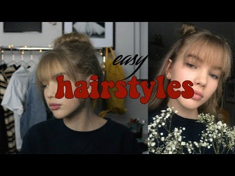 Easy Hairstyles (extra Cute With Bangs) Mp3