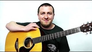 Hey Soul Sister - Easy Beginners Guitar Lesson - No Capo