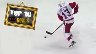 Pavel Datsyuk Top 10 Goals | HD |