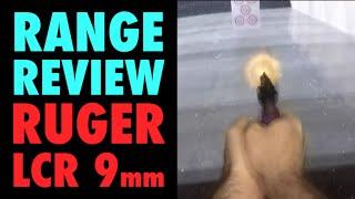 Range Review: Ruger LCR 9mm