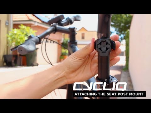 Fly6 CE: Attaching the Seat Post Mount