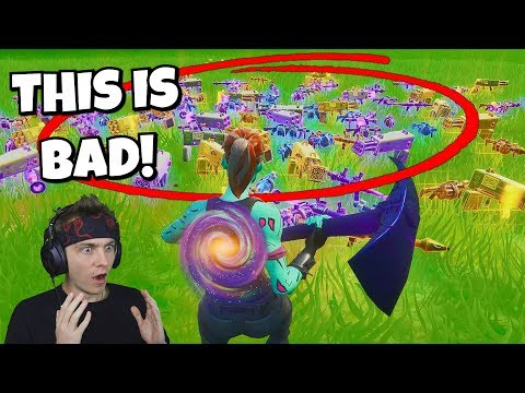 EVERY player can only use EXPLOSIVES in fortnite... (soooooooo bad)