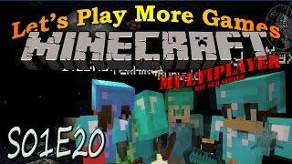 Minecraft @BlameTC Sub Server S01E20 - Wither Boss Double Kill