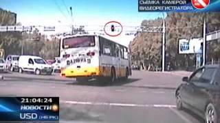 КТК: В Алматы произошло ДТП с участием автобуса