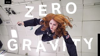 """What zero gravity really feels like in the """"vomit comet"""""""