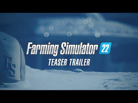 Teaser trailer de Farming Simulator 22