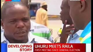 Mombasa residents react President Uhuru and Raila Odinga's new resolve