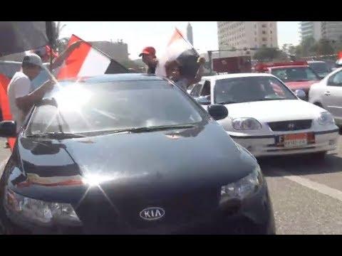 من أرشيف الوطن.. المصريون يحتفلون بافتتاح قناة السويس الجديدة