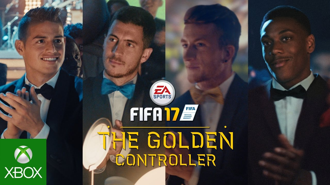 FIFA 17: The Golden Controller