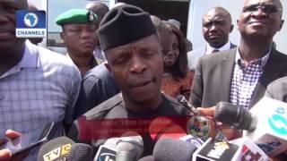 Dateline Lagos: VP Osinbajo's Tour Of Dangote Industrial Area In Lagos