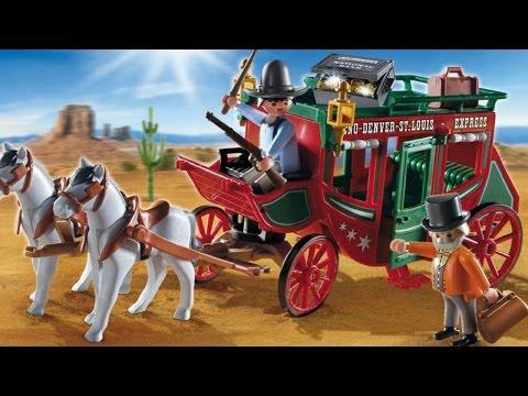 Playmobil 4399  Western Stagecoach