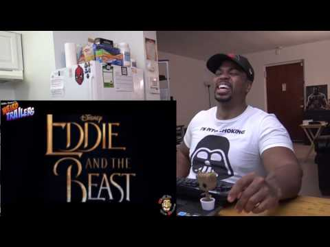 EDDIE AND THE BEAST Weird Trailer | BEAUTY and the BEAST spoof - REACTION!!!
