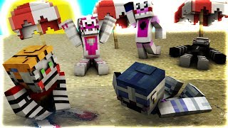 Minecraft Fnaf Goes To The Beach (Minecraft Roleplay)