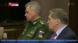 ВСочи состоялись переговоры Владимира Путина иБашара Асада.