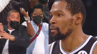 Kevin Durant SHOCKS Nets Crowd After Forcing Overtime With Unreal Shot In Game 7! Nets vs Bucks