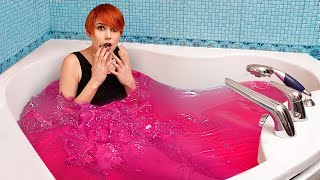 I Set Myself in Jello! / Jello Food Challenge