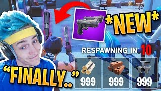 Streamers React to *NEW* Playground Mode & Dual Pistols! | Fortnite Best Moments #73