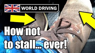 How To NEVER Stall A Manual Car Again - Clutch Control Tips