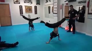 Kung Fu - Handstand Challenge