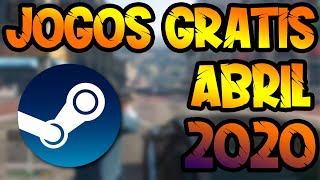 STEAM JOGOS GRATIS 2020 ABRIL