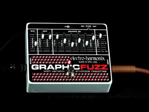 ELECTRO HARMONIX Graphic Fuzz Kytarový efekt