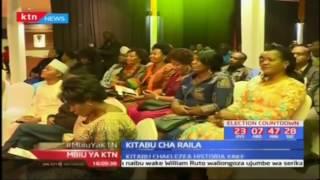 Raila Odinga azindua kitabu chake kipya