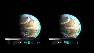 preview picture of video 'Blue Marble Pale Blue Dot - Oculus Rift'