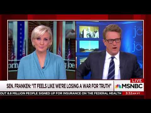 Joe Scarborough Bemoans Franken Resignation: 'You'll Get Killed For Saying It Doesn't Feel Right'