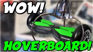 Easy HOVERBOARD WIN From A RIGGED Claw Machine?? (Not really...)