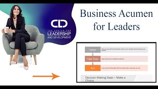 Business Acumen For Leaders - Course Demo