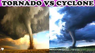 CYCLONE या TORNADO क्या है ज़्यादा ख़तरनाक   Cyclone,Tornado, Hurricane & Typhoon Explained in Hindi