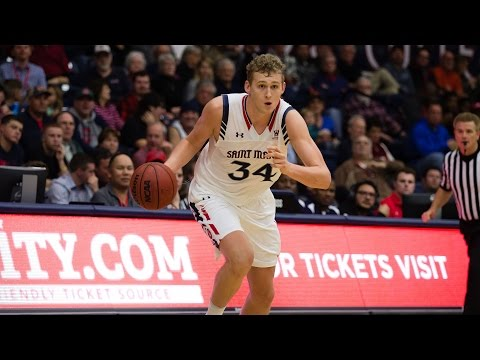 Saint Mary's Jock Landale Shines With Perfect First Half | CampusInsiders