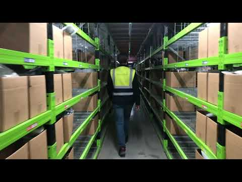 Take a look around James and James's new 600,000 sq ft fulfilment centre