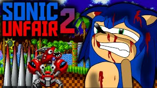 THE MOST UNFAIR SONIC GAME EVER! - SONIC UNFAIR 2 - EPIC REACTION! | LUIGIKID GAMING