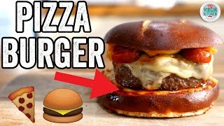 PIZZA BURGER RECIPE