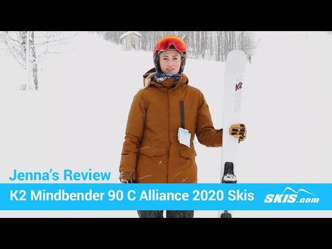 Video: K2 Mindbender 90 C Alliance Skis 2020 8 50