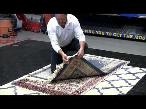 Step 1: Inspection -  Cleaner World Carpet Cleaning Step