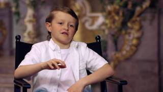 """Beauty and the Beast: Nathan Mack """"Chip"""" Behind the Scenes Movie Interview"""